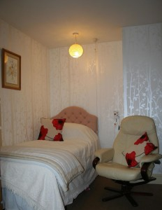 The Lodges residential care home Cardiff -bedroom