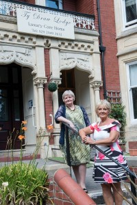 June Lyons retirement The Losdges residential care Home Cardiff
